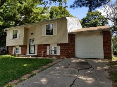 Indianapolis Single Family Home For Sale: 1809 Mutz Drive