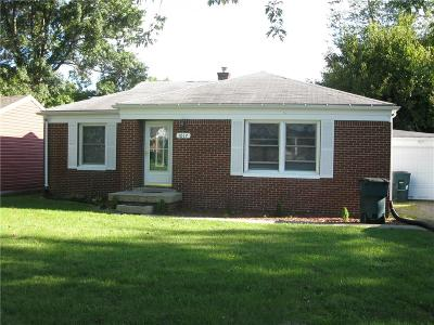 Delaware County Single Family Home For Sale: 1017 West Dunn