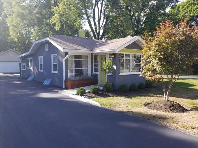 Indianapolis Single Family Home For Sale: 6028 Evanston Avenue