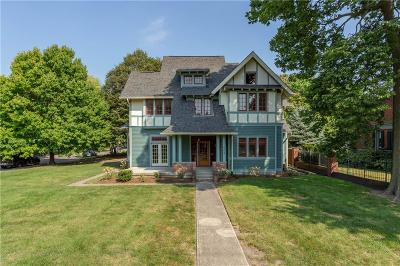 indianapolis Single Family Home For Sale: 604 East 13th Street