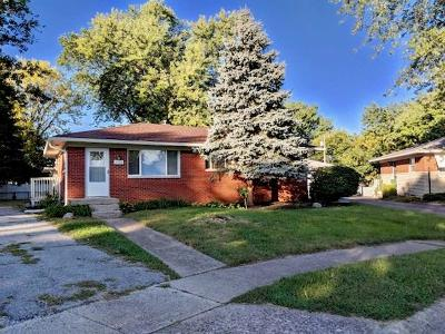 Speedway Single Family Home For Sale: 5332 Meadowood Drive