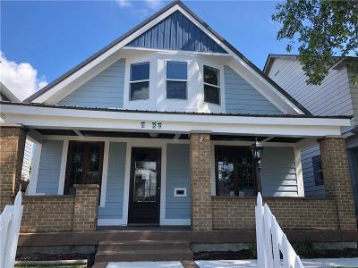 Indianapolis Single Family Home For Sale: 1429 South East Street