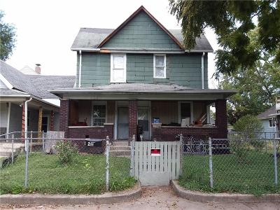 Indianapolis Multi Family Home For Sale: 209 North Beville Avenue