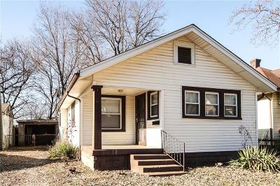 Single Family Home For Sale: 3012 Arsenal