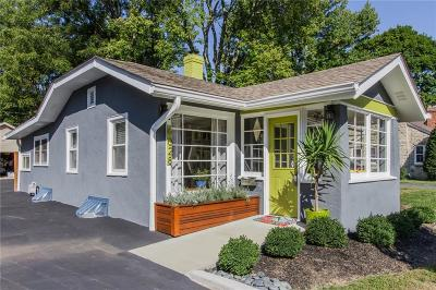 Single Family Home For Sale: 6028 Evanston Avenue