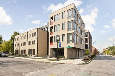Indianapolis Condo/Townhouse For Sale: 319 East 16th Street #308