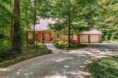 Indianapolis Single Family Home For Sale: 8140 Sycamore Road