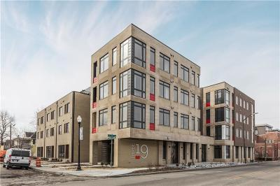 Indianapolis Condo/Townhouse For Sale: 319 East 16th Street #303