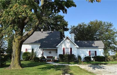 Lebanon Single Family Home For Sale: 5990 East State Road 32
