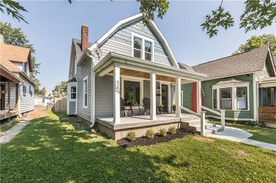 Indianapolis Single Family Home For Sale: 1902 Commerce Avenue