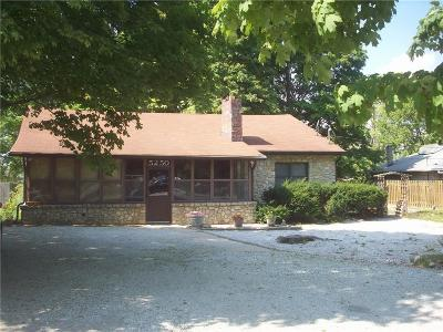 Indianapolis Single Family Home For Sale: 5250 Lafayette Road