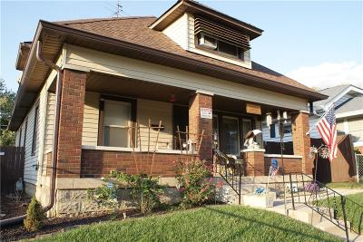 Indianapolis Single Family Home For Sale: 828 East Minnesota Street