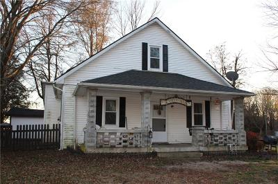 Montgomery County Single Family Home For Sale: 10521 East State Road 32 Road