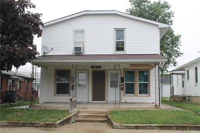 Beech Grove Multi Family Home For Sale: 121 South 2nd Avenue
