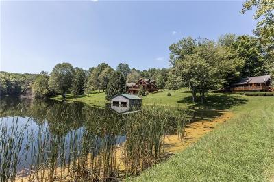 Franklin County Single Family Home For Sale: 25124 Kokomo Hill Road