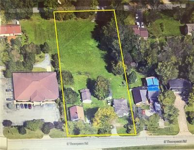 Indianapolis Commercial Lots & Land For Sale: 814 & 824 East Thompson Road