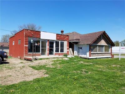 Indianapolis Commercial For Sale: 3544-3548 West 16 Street