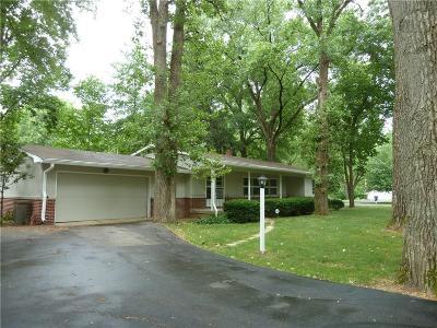 Carmel Single Family Home For Sale: 10010 Hillsdale Drive