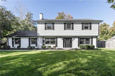 Indianapolis Single Family Home For Sale: 9250 North Temple Avenue