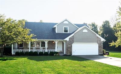 McCordsville Single Family Home For Sale: 9839 North Ridgeway Court