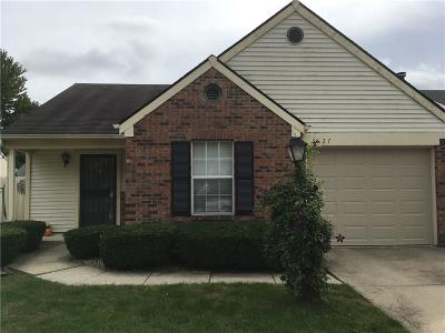 Indianapolis Single Family Home For Sale: 6627 Sundown Drive N