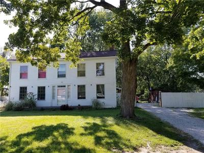 Marion County Single Family Home For Sale: 6358 Michigan Road