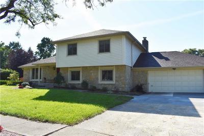 Carmel Single Family Home For Sale: 3365 Eden Way Circle