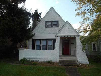 Single Family Home For Sale: 326 North Arlington Avenue