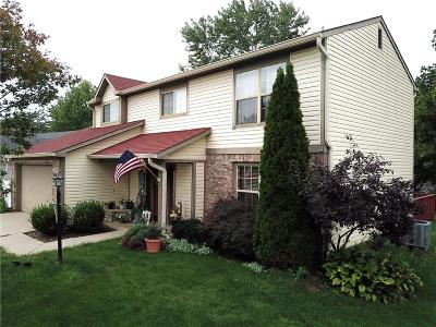 Fishers Single Family Home For Sale: 12534 Trester Lane