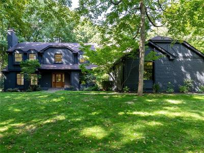 indianapolis Single Family Home For Sale: 8350 North Meridian Street