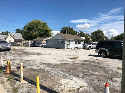 Indianapolis Commercial Lots & Land For Sale: 2302-2306 East Washington Street E