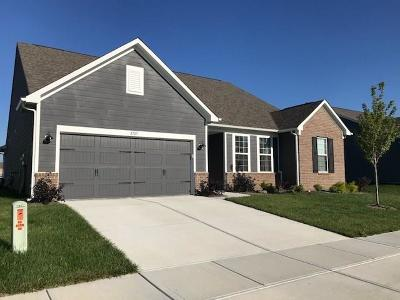 Whitestown Single Family Home For Sale: 5707 Gateway East Drive