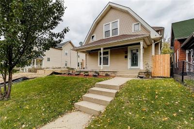 Indianapolis Single Family Home For Sale: 1325 Olive Street
