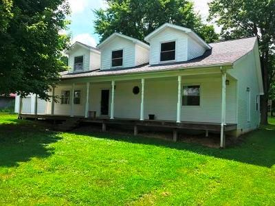Westport Single Family Home For Auction: 12085 South County Road 1050 W