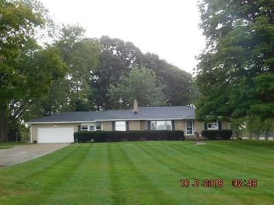 Delaware County Single Family Home For Sale: 2242 North County Road 650 W
