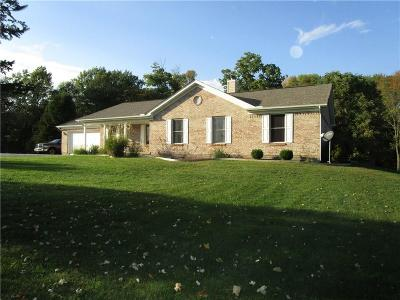 Rushville Single Family Home For Sale: 26219 Sanes Creek Road