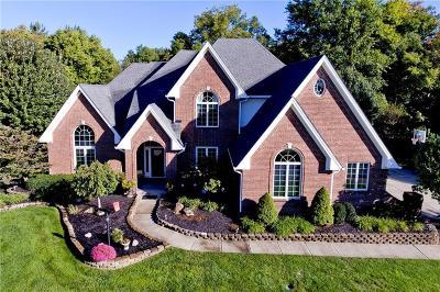 Carmel Single Family Home For Sale: 4976 Deer Ridge Drive N