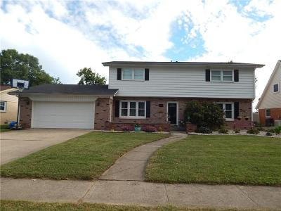 Plainfield IN Single Family Home For Sale: $249,900