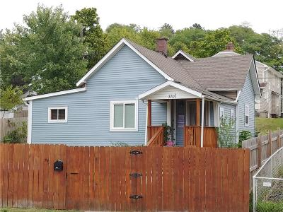 Indianapolis Single Family Home For Sale: 3701 Crescent Avenue