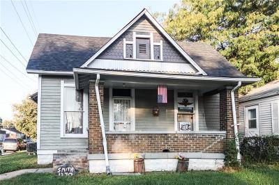 Indianapolis Single Family Home For Sale: 1370 Hiatt Street