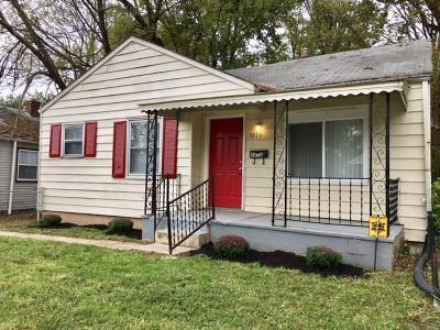 Indianapolis Single Family Home For Sale: 3416 North Denny Street