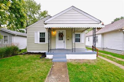 Indianapolis Single Family Home For Sale: 1453 North Colorado Avenue