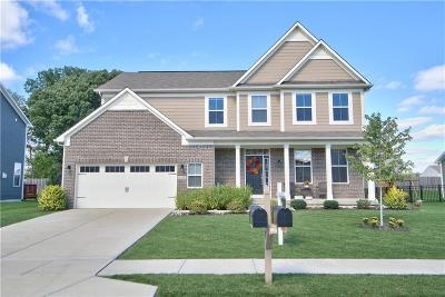 Brownsburg Single Family Home For Sale: 7754 Rosemont Drive