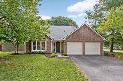 Indianapolis Single Family Home For Sale: 8167 Menlo Court East Drive