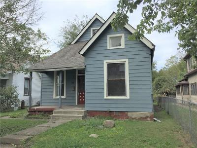 Indianapolis Single Family Home For Sale: 838 North Temple Avenue