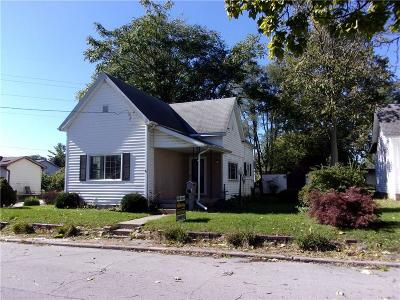 Elwood IN Single Family Home For Sale: $62,900