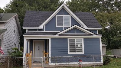 Indianapolis Single Family Home For Sale: 2364 Winthrop Avenue