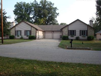 Indianapolis Multi Family Home For Sale: 3109-3111 East Midland Road