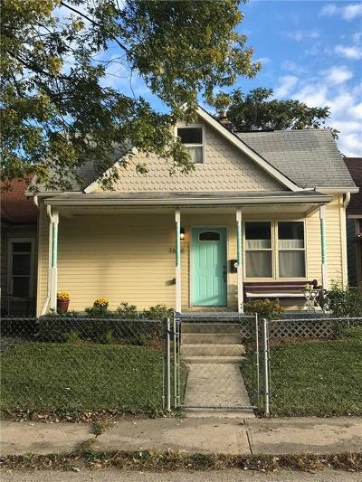 Indianapolis Single Family Home For Sale: 1606 Lexington Avenue