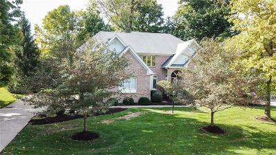 Zionsville Single Family Home For Sale: 4455 Thicket Trace